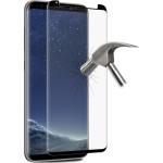 Puro Ultra Slim Θήκη Σιλικόνης Samsung Galaxy S8 & Full Edge Tempered Glass - White Semi - Transparent (SGS803SDGFSBLK)