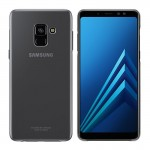 Samsung Official Θήκη Ultra Thin and Traslucent Samsung Galaxy A8 (2018) - Transparent (EF-QA530CTEGWW)
