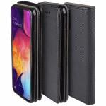 5900495788689Θήκη Flip με Πορτάκι Smart Magnet για Xiaomi Redmi Note 8 - Μαύρο (200-104-616)