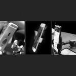 Wozinsky Universal (WCH-02) Magnetic Air Vent Car Mount Holder - Black - (200-105-110)