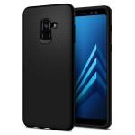Spigen Galaxy A8 2018 Liquid Air Black (590CS22747)