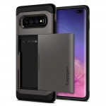 Spigen Galaxy S10+ Slim Armor CS Gunmetal (606CS25780)