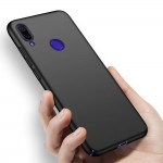 MSVII Σκληρή Θήκη Slim Xiaomi Redmi Note 7- Black (200-104-205)
