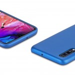 Duxducis Θήκη Από Συνθετικό Δέρμα για Samsung Galaxy A10  - Blue (200-104-958)