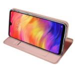Duxducis SkinPro Flip Θήκη για Xiaomi Redmi Note 7 - Ροζ (200-104-206)