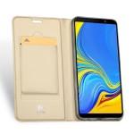 Duxducis SkinPro Flip Θήκη για Samsung Galaxy A7(2018) - Gold