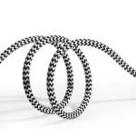 Duxducis Καλώδιο Φόρτισης και Μεταφοράς Δεδομένων USB σε Lightning 100cm - Μαύρο (200-103-795)
