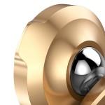 Baseus Small Ears Universal Magnetic Βάση Αυτοκινήτου – Χρυσό  (200-104-358)