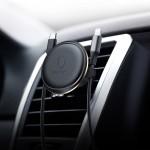 Baseus Air Vent - Μαγνητική Βάση Κινητών σε Αεραγωγούς Αυτοκινήτου μαύρη-χρυσή