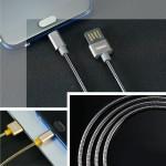 Καλώδιο USB/Micro USB με μεταλλική επένδυση RC-080m - Silver by Remax