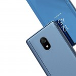 Θήκη Clear View Standing Cover για Xiaomi Redmi 8A Μαύρη - OEM (200-104-850)