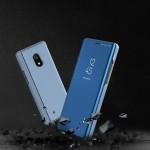Θήκη Clear View Standing Cover για Xiaomi Redmi 8A Ροζ - OEM (200-104-849)