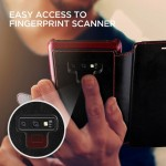 Verus Δερμάτινη Θήκη Πορτοφόλι Samsung Galaxy Note 9 - Black