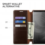 Verus Δερμάτινη Θήκη Πορτοφόλι Samsung Galaxy Note 9 - Brown