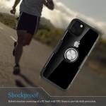 OEM Clear Carbon Case Ring για iPhone 11 - Black (200-104-606)