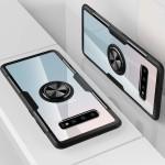 OEM Clear Carbon Case Ring για Samsung Galaxy S10 Plus - Black (200-104-609)