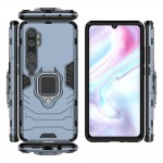 Ring Armor Case Kickstand Tough Rugged Cover for Xiaomi Mi Note 10 / Mi Note 10 Pro / Mi CC9 Pro - Blue (200-105-689)