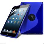 Θήκη σιλικόνης για Apple iPad Mini 2,3 μπλε by Yousave