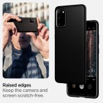 Spigen Θήκη Liquid Air Samsung Galaxy S20 Plus - Black Matte