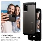 Spigen Θήκη Tough Armor Samsung Galaxy S20 Plus - Gunmetal