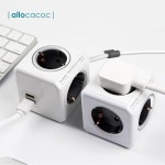PowerCube Allocacoc Original Extended Grey 1.5m