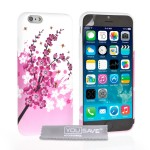 Θήκη σιλικόνης για iPhone 6 floral by YouSave Accessories