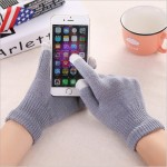 smartphone gloves grey oem