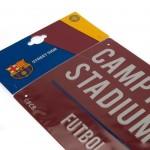 Μεταλλική διακοσμητική πινακίδα Barcelona F.C - Κόκκινη Επίσημο Προϊόν