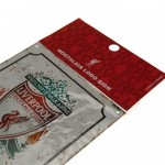 Μεταλλική διακοσμητική πινακίδα Liverpool F.C Retro