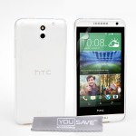 Θήκη σιλικόνης για HTC Desire 610 ημιδιάφανη