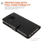 Θήκη- Πορτοφόλι για HTC One M9 Plus  YouSave Accessories μαύρη
