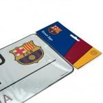 Μεταλλική διακοσμητική πινακίδα Barcelona F.C