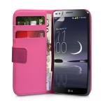 Θήκη- Πορτοφόλι για LG G Flex by YouSave ροζ