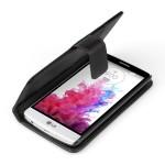 Θήκη- Πορτοφόλι για LG G3 mini by YouSave μαύρη