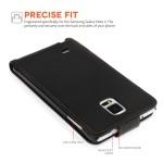 Θήκη για Samsung Galaxy Note 4 by YouSave Accessories μαύρη