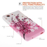Θήκη σιλικόνης για Sony Xperia Z3 Compact floral