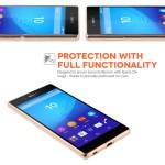 Θήκη σιλικόνης διάφανη για Sony Xperia Z3+ Ultra Slim