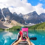 Celly Universal Αδιάβροχη Θήκη Πουγκί για Smartphones έως 6.5'' - IPX8 - Pink (SPLASHBAG19PK)