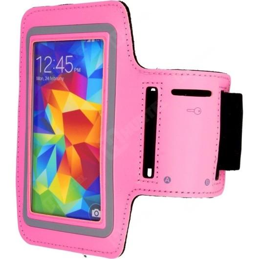 Θήκη Μπράτσου για Samsung Galaxy S6 ροζ