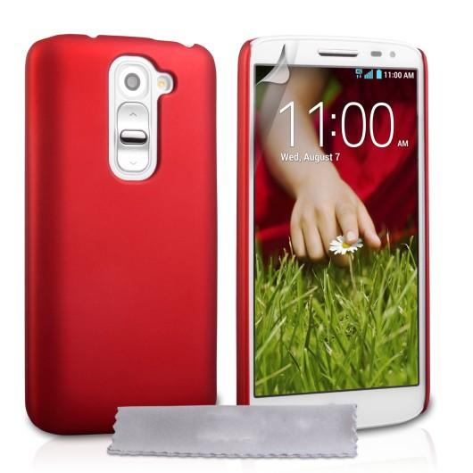 Θήκη για LG G2 κόκκινο ultra slim