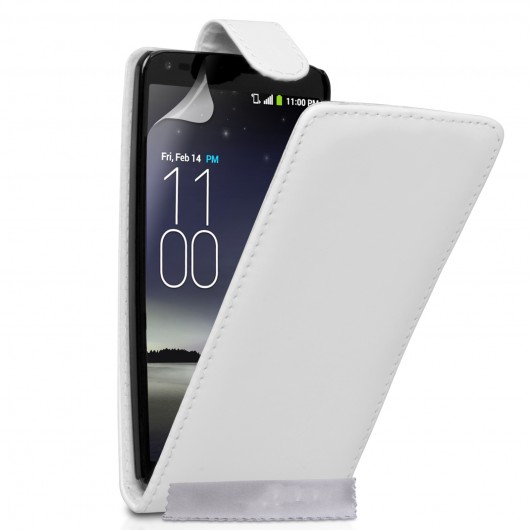 Θήκη για LG G Flex by YouSave Accessories λευκή