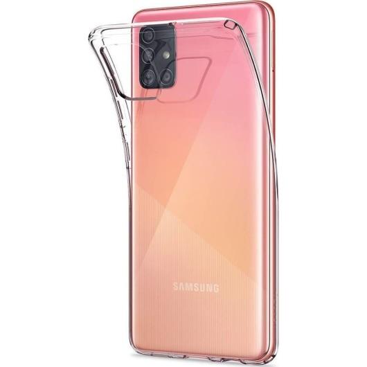 Spigen Θήκη Σιλικόνης Liquid Crystal Samsung Galaxy A51 - Cystal Clear (ACS00564)