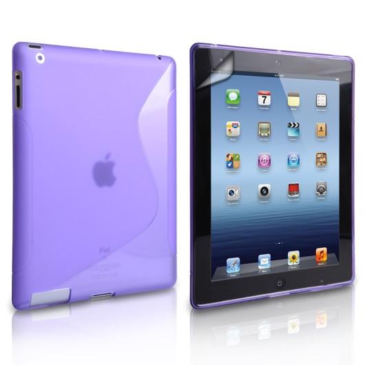 Θήκη σιλικόνης για Apple iPad Mini 2,3 Μωβ by Yousave