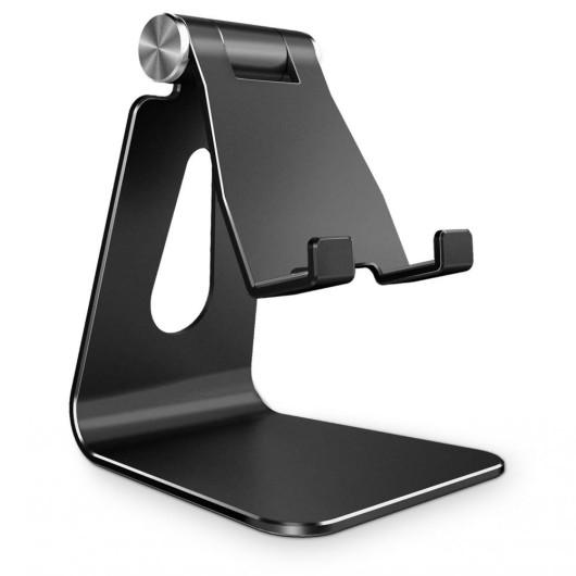 Tech-Protect Universal Stand Holder Z4A - Βάση Αλουμινίου για Smartphone - Black  (200-105-928)