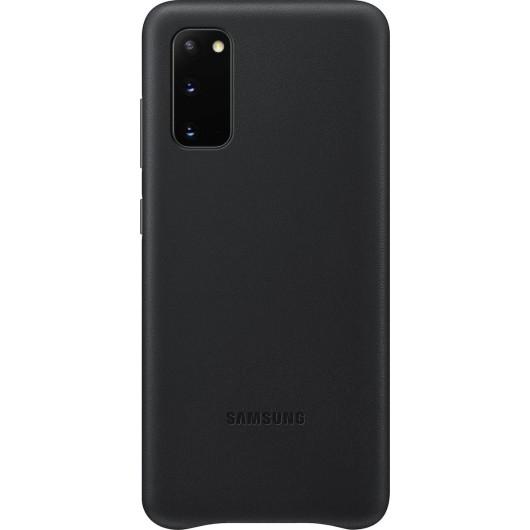 Official Samsung Δερμάτινη Θήκη Samsung Galaxy S20 - Black