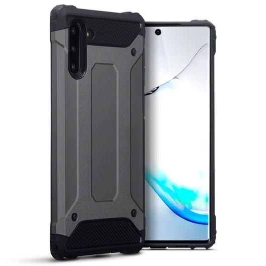 Terrapin Ανθεκτική Θήκη Double Layer Impact Samsung Galaxy Note 10 - Gunmetal (131-002-191)