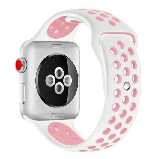 Kakapi Pink Sport Silicone Λουράκι Apple Watch 42mm