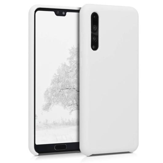 Θήκη Σιλικόνης για Huawei P20 Pro - White by KW (200-104-595)