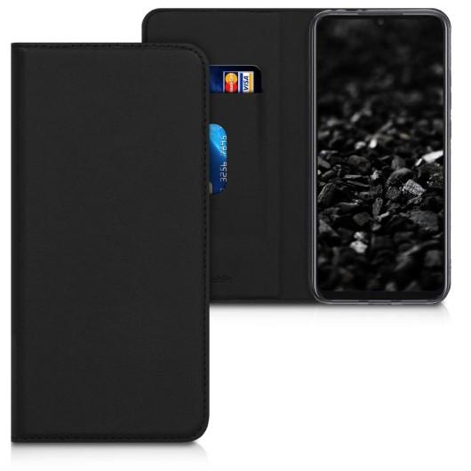 Θήκη-Πορτοφόλι για Xiaomi Redmi Note 7 μαύρο με stand by KW (200-104-152)