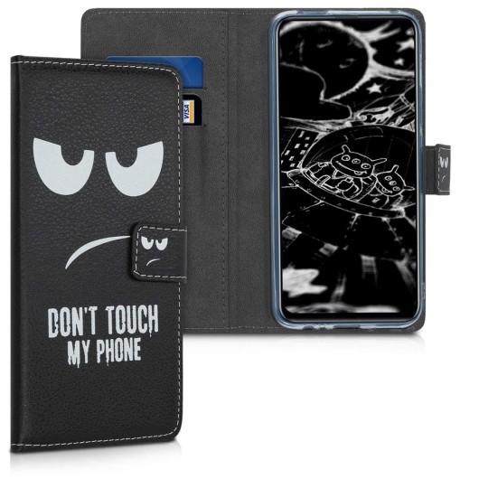 Θήκη-Πορτοφόλι για Huawei P Smart Z - White/Black by KW (200-104-284)